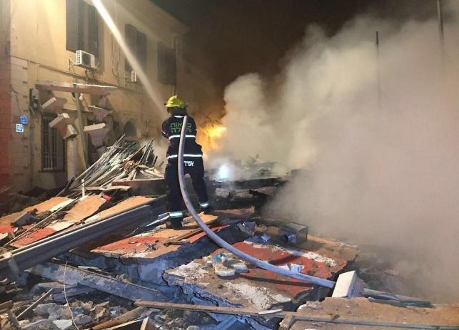בלוני גז התפוצצו בחנות ביפו; שלושה נהרגו