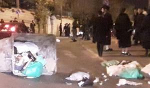 אבנים יודו על ניידת המשטרה, חשוד נעצר