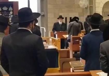 """פורת יוסף: תפילה לרפואת הגר""""ש בן שמעון"""