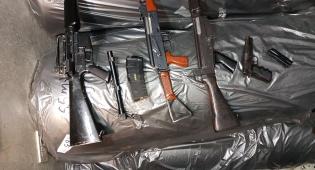 ארבעה נשקים בלתי חוקיים הוחרמו בחברון