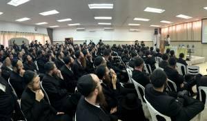 מאות האברכים בכנס המיוחד