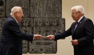הטקס, ונאום השגריר - השגריר נכנס לתפקידו: 'לעזור לישראל'. צפו