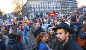 יהודי צרפת מפגינים. ארכיון