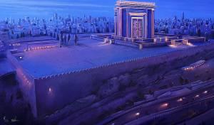 מדהים! כך ייראה בית המקדש השלישי? צפו