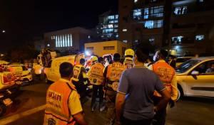 ילד כבן שלוש נפצע בינוני בתאונה באלעד
