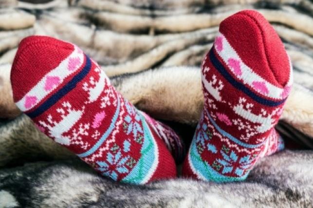 כפות רגליים חמות