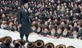 ה'גראמער' הגוראי שר לאלפי חסידי סאטמר