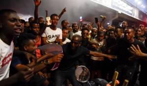 עימותים בהפגנת האתיופים: שוטרים נפצעו
