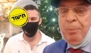 סערה באשדוד: סגן ראש העיר חנך עץ אשוח