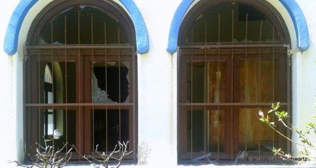 מי ניסה לבצע פיגוע בבית העלמין?
