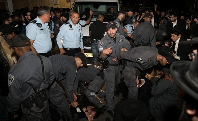 המהומה במגרש הרוסים, אמש