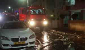 הלילה: שלושה כלי רכב עלו באש בבת ים