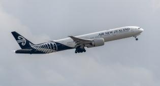 מטוס של אייר ניו זילנד חברת התעופה הבטוחה בעולם
