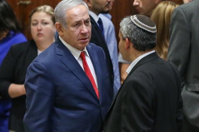 השר אלקין וראש הממשלה במליאת הכנסת