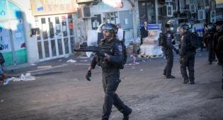 עם 200 שוטרים ועימותים; כך פורקה הסוכה