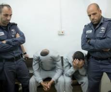 החשודים בבית המשפט