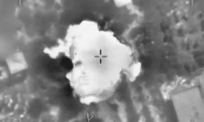 וידאו: תקיפות חיל האוויר בעזה