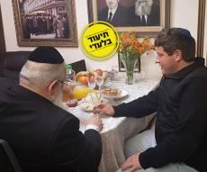 """רמי גרינברג אצל הגר""""מ רבינוביץ, אמש"""