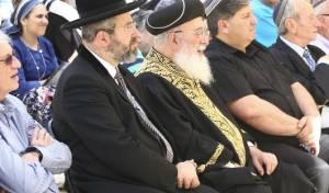 הרב יוסף נעדר, הרב לאו ציטט את הרב עמר