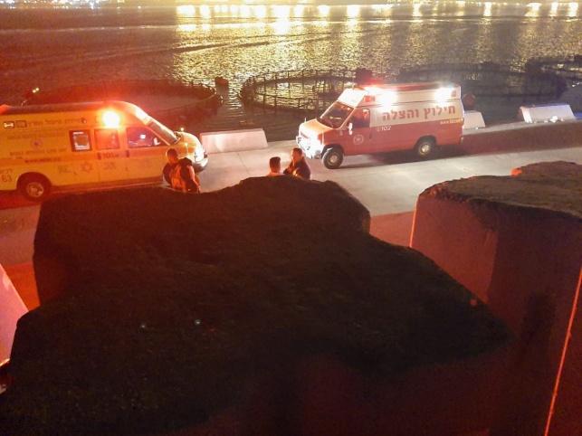דייג נפל לעומק 15 מטרים בנמל אשדוד