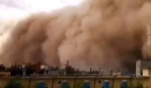 סופות החול מתקרבות לעיר