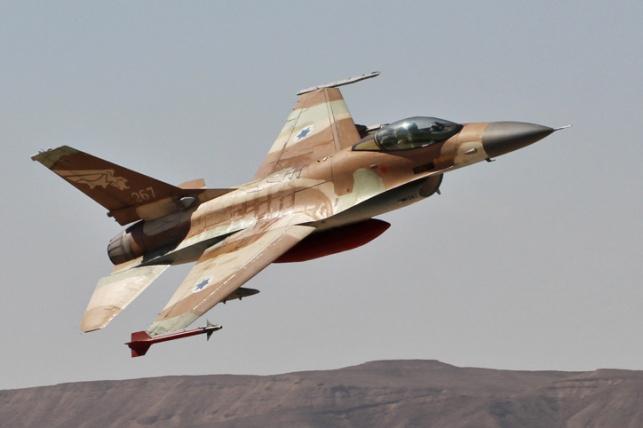 """חיל האוויר השמיד סוללת טילי נ""""מ בסוריה"""