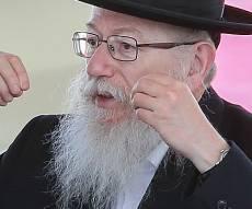 השר יעקב ליצמן - לפחות יהודי אחד השתתף בעבודות הרכבת