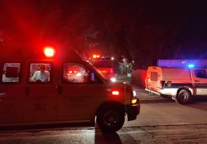 עובד זר נהרג בשריפה שפרצה במבנה בשרון