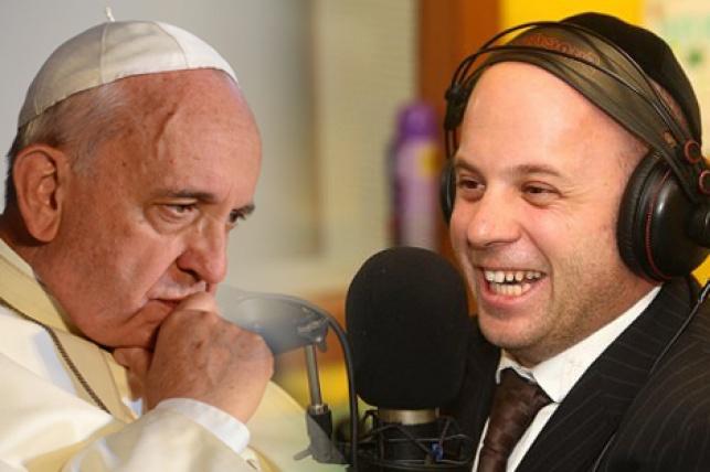 מנחם טוקר והאפיפיור