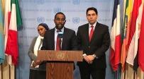 """משפחת מנגיסטו עם דנון במסיבת העיתונאים - משפחתו של מנגיסטו במסע הסברה באו""""ם"""