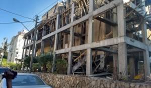 בני ברק: הפיגומים של הרחבת הבנייה קרסו