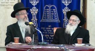 הרבנים יוסף, אמש