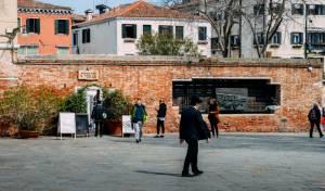 יהודי באזור הגטו היהודי בונציה