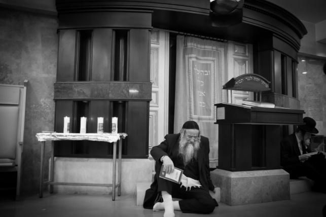 היכל בית הכנסת בו אירע הטבח