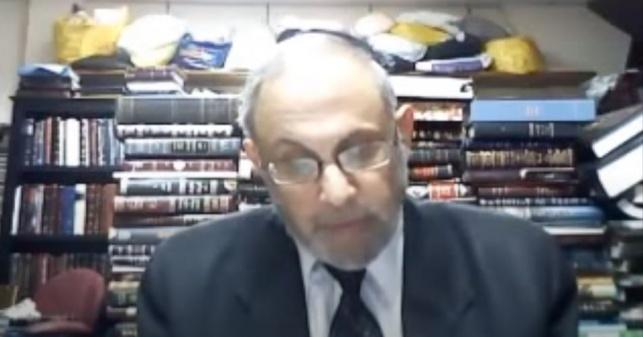 הרב קלמר בשיעור