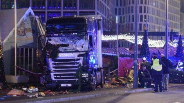 זירת הפיגוע בברלין