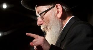 שר הבריאות יעקב ליצמן. ארכיון - שערי צדק נגד ליצמן: 'כוחנות נטולת חמלה'