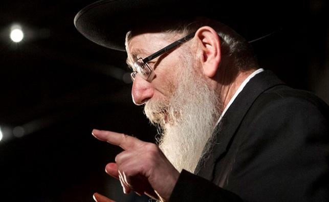 שר הבריאות יעקב ליצמן. ארכיון