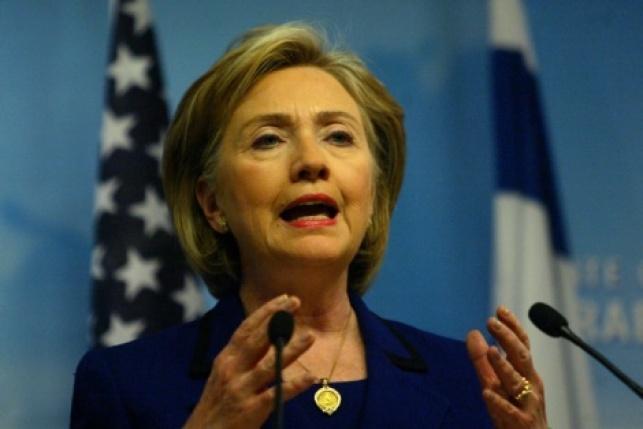 """הילרי קלינטון מועמדת דמוקרטית נשיאות ארה""""ב"""