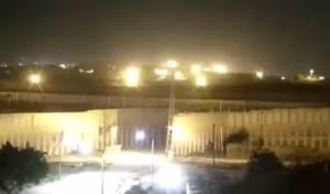 סרטון המראה את פינוי אחת מעמדות חמאס בגבול רצועת עזה לפני תקיפות צה''ל הערב
