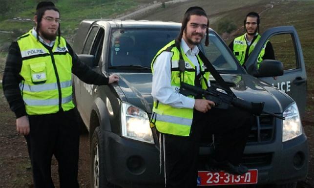 מתנדבי המשמר האזרחי ביבנאל. למצולמים אין קשר