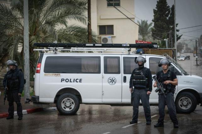 כוחות המשטרה בערערה, ביום שישי