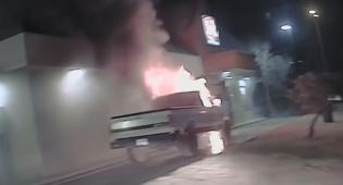 טקסס: כך קצין משטרה מהיר מנע אסון גדול