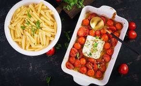 פסטה עם פטה ועגבניות שרי
