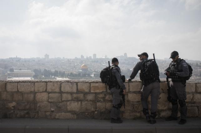 האובך בירושלים השבוע