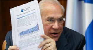 """אנחל גלרייה מזכ""""ל ה OECD - ה-OECD חתך את תחזית הצמיחה העולמית"""