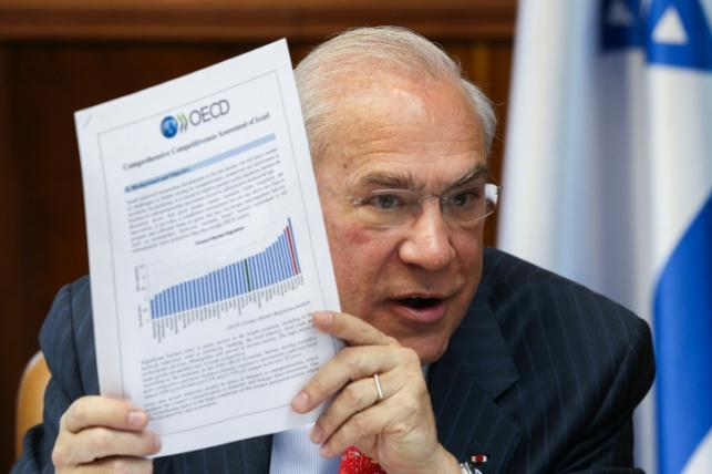 """אנחל גלרייה מזכ""""ל ה OECD"""