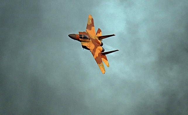 אילוסטרציה - בתגובה לרקטה: חיל האוויר תקף בעזה