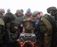 """כוחות צה""""ל בגבול לבנון"""