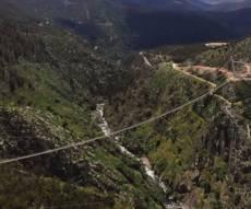 מפחיד: מבט אל הגשר התלוי הארוך בעולם